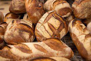 Variété de pain pour commande de Noël et nouvel an